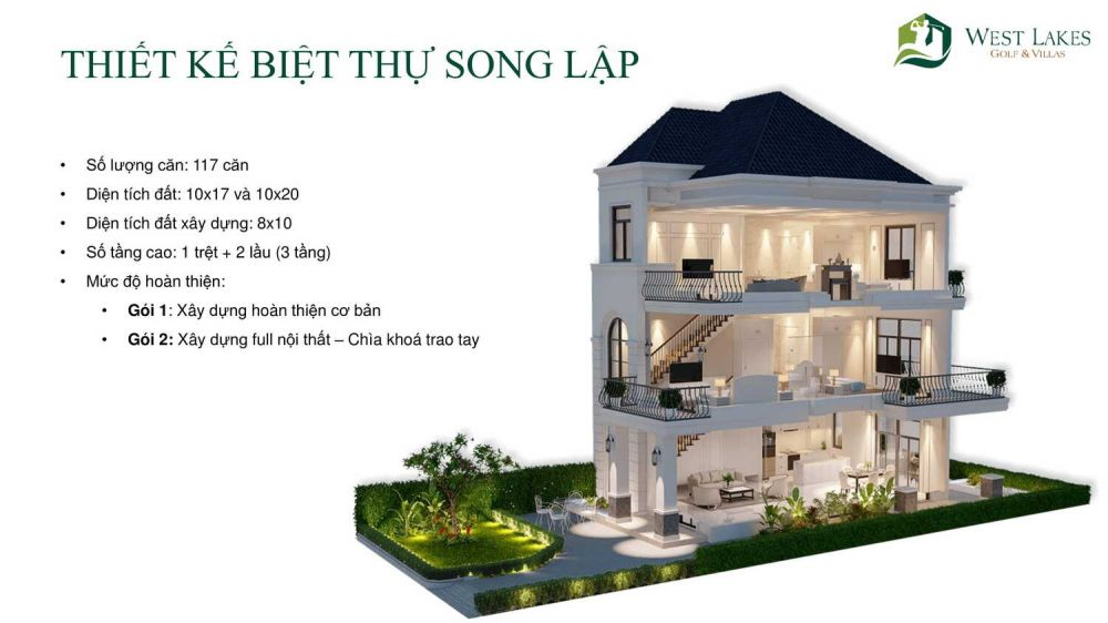 biet thu song lap du an golf lakes
